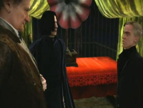 File:Draco Malfoy and Severus Snape at Slughorn christmas party.JPG