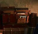 Gilderoy Lockhart's luggage