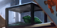 Ronald Weasley's frog