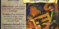 Dragon's Escape (Trading Card)