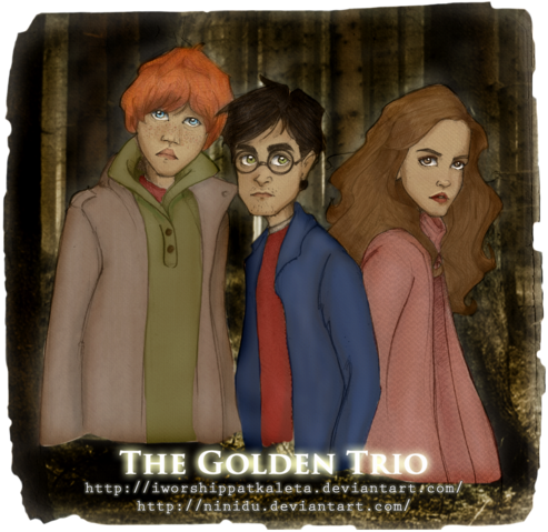 File:Golden Trio Deathly Hallows.png
