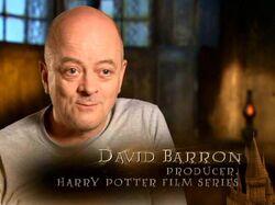 David Barron (Producer, Harry Potter films) - HP6 screenshot