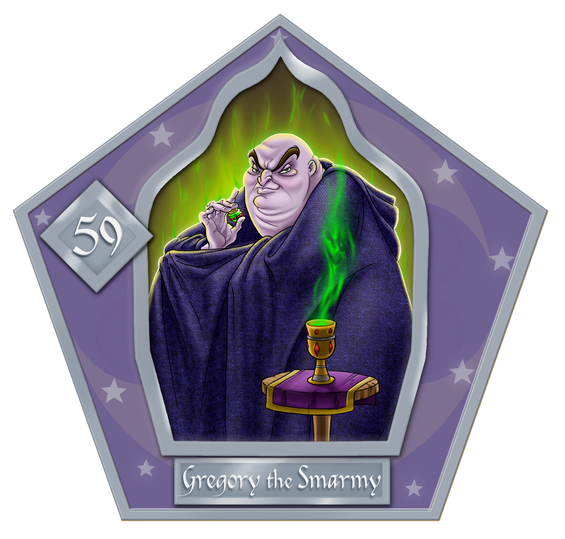 Gregory The Swarmy-59-chocFrogCard