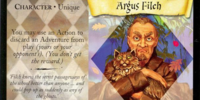 Argus Filch (Trading Card)