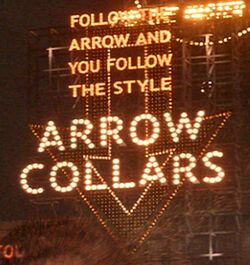 ArrowCollarsSign