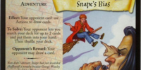 Snape's Bias (Trading Card)