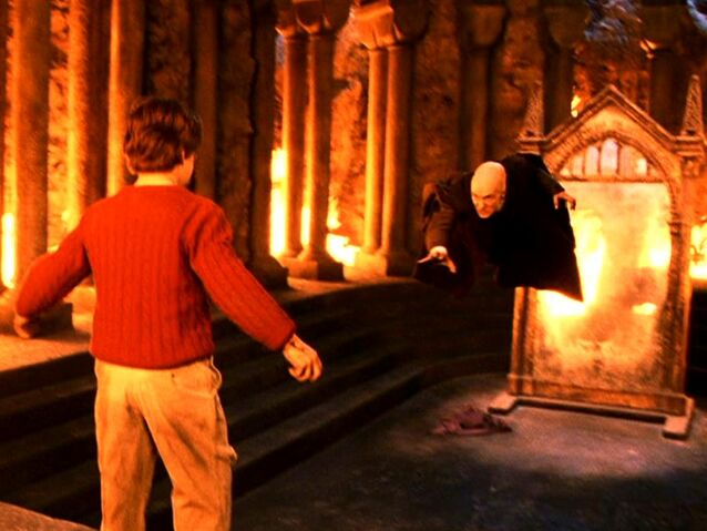 File:Quirinus Quirrell and Harry Potter at the Philosopher's Stone Chamber.JPG