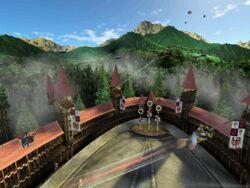 Quidditch World Cup - German Quidditch Stadium 01
