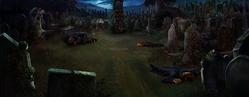 Little Hangleton graveyard Pottermore