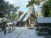 Godric's Hollow graveyard