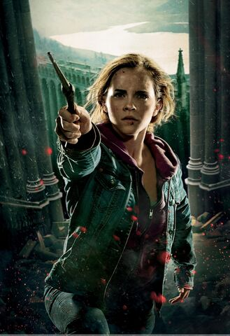 File:TDHp2 Textless Poster Hermione action.jpg