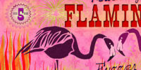 Feathery Flamingo Flame Fuzzer