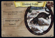 Slinking Ferret (Harry Potter Trading Card)