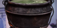Hopping cauldron
