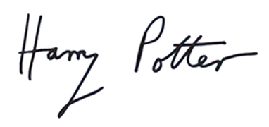 File:Harry Potter sig.png