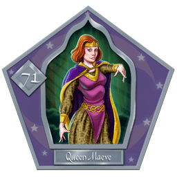 Queen Maeve-71-chocFrogCard