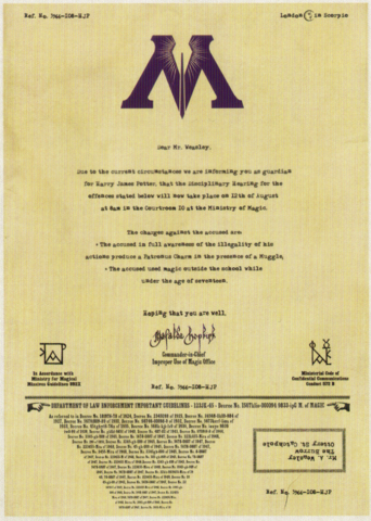 File:Ministry letter to Arthur Weasley.png