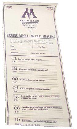 Progress Report of Magical Didactics