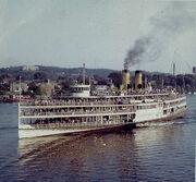 Hudson River Steamboat-1