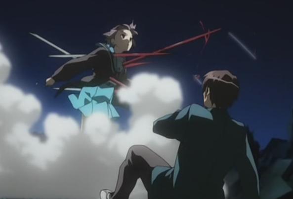 File:Yuki Nagato protecting Kyon.jpg