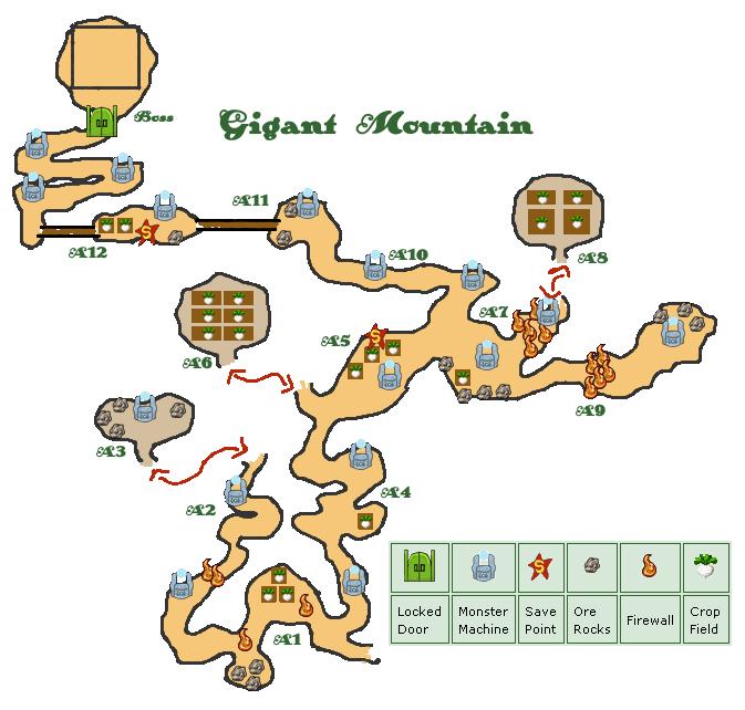 Map gigant