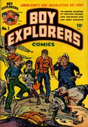Boy Explorers Vol 1 1