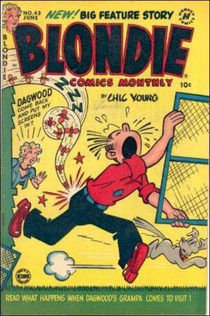Blondie Comics Vol 1 43