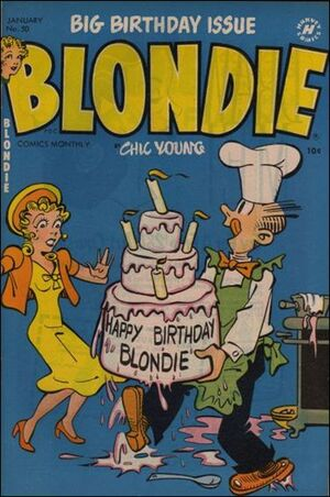 Blondie Comics Vol 1 50