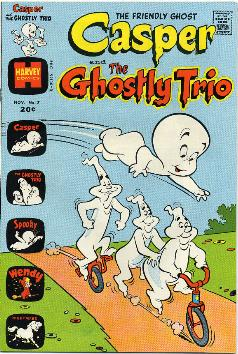 Casper ghostly