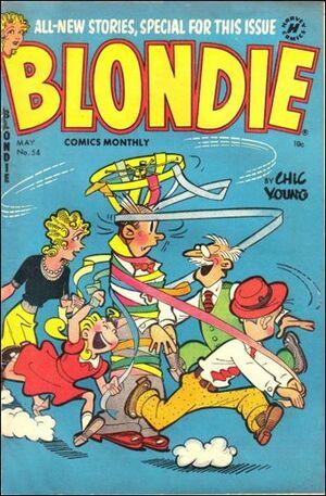 Blondie Comics Vol 1 54
