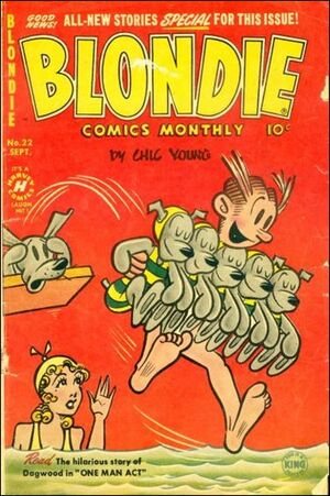 Blondie Comics Vol 1 22