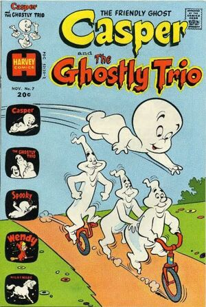 Casper and The Ghostly Trio Vol 1 7