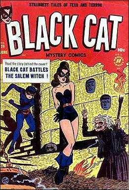 Black Cat Mystery Comics Vol 1 29