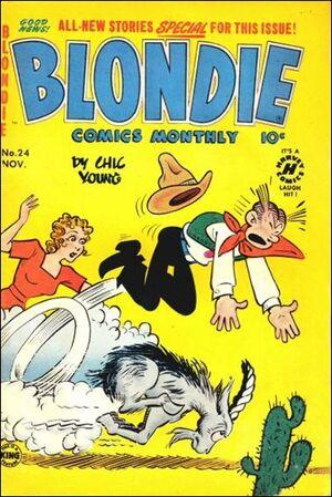 Blondie Comics Vol 1 24