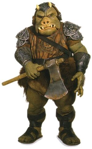 Gamorrean Guard with Axe