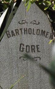 Gore tombstone