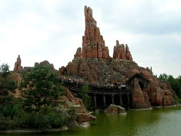 Big Thunder Mountain Train
