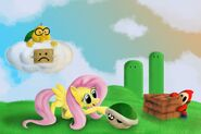 Flutters in mario land