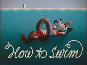 How To Swim Title Card