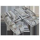 Icon styles brass C armor