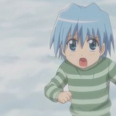 Hayate when he was younger