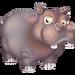 Grey Hippo