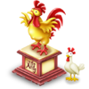 Chinese Chicken Statue