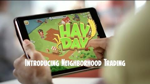Hay Day Introducing Neighborhood Trading