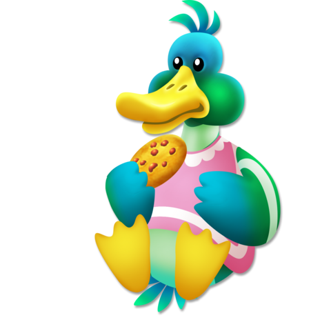File:Duck Cookie.png