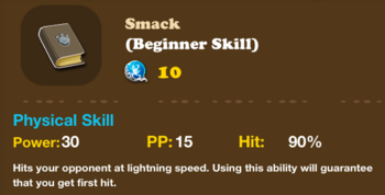 SkillPhysical Smack