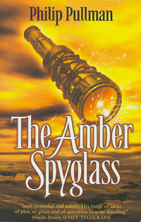 The Amber Spyglass Book Cover