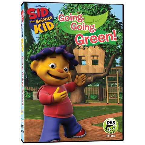File:Sid the Science Kid - Going Going Green DVD.jpg