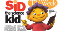 Sid the Science Kid media coverage
