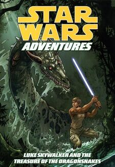 Star Wars Adventures Volume 3 - Luke Skywalker and the Treasure of the Dragon Snakes
